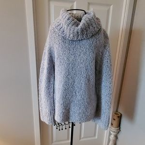 Express comfy soft cowl neck sweater
